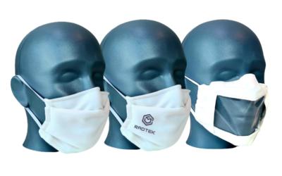 Efficacité des masques en tissu d'Entranam